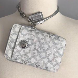 Coach! Wristlet, phone, wallet!